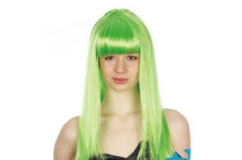 Long Wig - Green