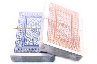 2 Decks of Standard Plastic Playing Cards