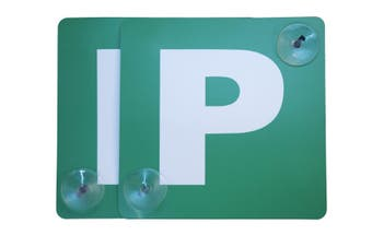 2 Pack Probationary Green Ps P Plates Suction Cups