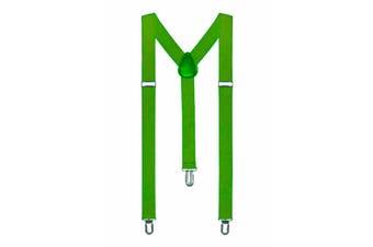 Suspenders - Green