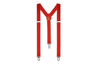 Suspenders - Red