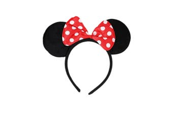 Mickey & Minnie Mouse Ears Headband - Minnie