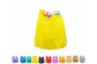 Hawaiian Hula Skirt - Yellow