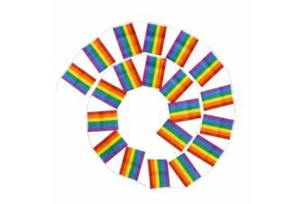 3.6m Rainbow Pride Bunting Flag