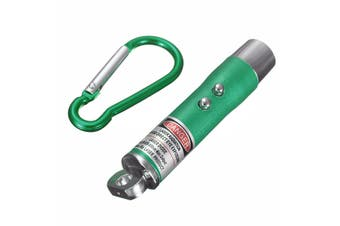 3 in 1 Red Laser Pointer Keychain - Green