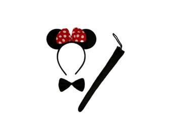 3 Piece Animal Set - Minnie Mouse