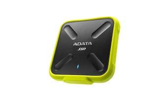 ADATA ASD700-512GU3-CYL SD700 512GB EXTERNAL SSD USB3.1-YELLOW