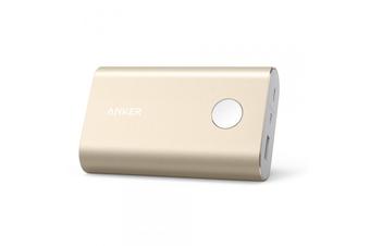 Anker PowerCore+ 10050mAh Power Bank QC 3.0 - Gold