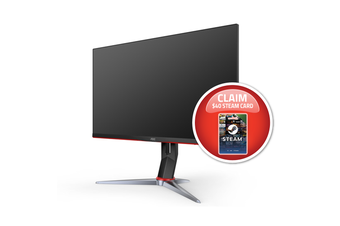 AOC 27G2 27in 144Hz Full HD 1ms FreeSync IPS Gaming Monitor G-SYNC Compatible