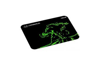 Asus Cerberus Mat Mini Green Gaming Mouse Pad - Small