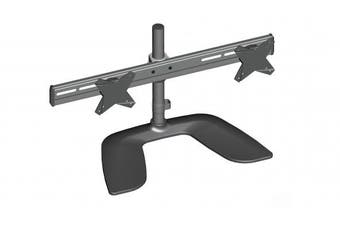 Brateck Dual Monitor Horizontal Desk Stand - 13-27in