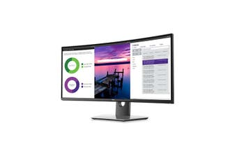 Dell U3419W 34in Curved Ultrawide WQHD 3440X1440 21:9 IPS LED LCD Monitor