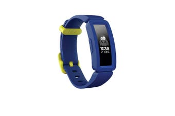 Fitbit Ace 2 Activity Tracker - Night Sky/Neon Yellow