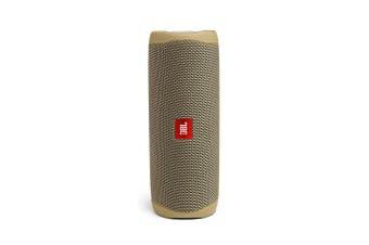 New JBL Flip 5 Portable Bluetooth Speaker - Sand
