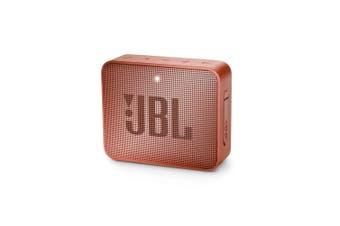 JBL GO 2 Mini Portable Wireless Bluetooth Speaker - Cinnamon