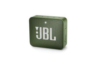 JBL GO 2 Mini Portable Wireless Bluetooth Speaker - Moss Green