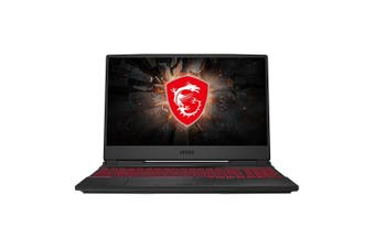 MSI GL65 10SCSR-011AU 15.6in 120Hz i7-10750H GTX1650Ti 16GB 512GB SSD Gaming Laptop