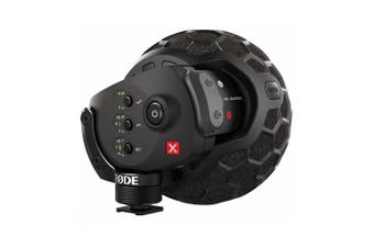Rode Stereo VideoMic X Broadcast-Grade Stereo On-camera Microphone (SVMX)