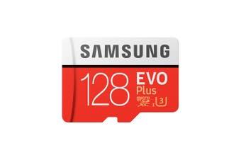 Samsung 128GB EVO Plus MicroSD Card Class 10 100MB/s Read 90MB/s Write