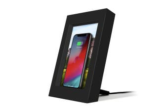 Twelve South PowerPic Wireless Charging Picture Frame - Black
