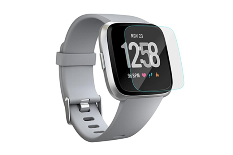 Clear Screen Protection Film For Fitbit Versa-Hd Tempered Glass Lcd Screen Protector Film