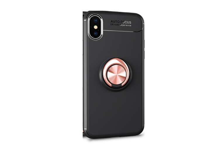 Heavy Duty Durable Soft Tpu Protective Case With Rotation Ring Kickstand for Iphone7P-8P