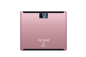 """Rechargeable Digital Body Weight Scale With Large 3. 0"""" Lcd Display Auto Technology Pink"""