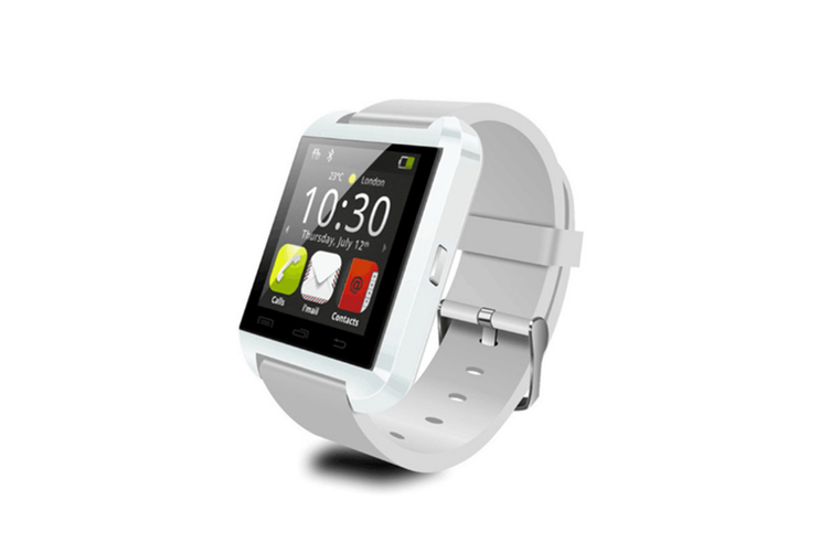 Smart Watch For Android Phones,Smart Watches With Text,Bluetooth Watch Phone White