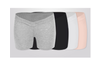 (2 Pack) Pregnant Women Wear Bottompants,Safety Pants To Prevent Low Light Waist Dressing - 13 L