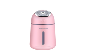 Air Humidifier Multi-Function Four-In-One Mini Ultrasonic Usb Aromatherapy Air Humidifier Pink