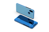 Mirror Case Translucent Flip Full Protection Mobile Phone Stand For Xiaomi Blue Xiaomi5X/A1
