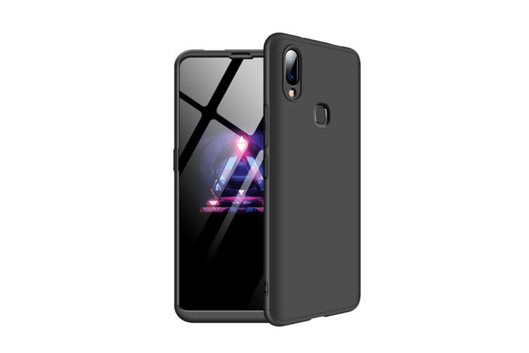 Frosted Shield Matte Ultra Thin Slim Shockproof Shell Cover For Vivo Black V7/Y75