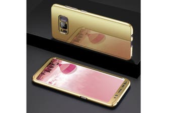 Mirror Cover Full Protective Scratchproof Flip Stand Case Shell For Samsung Gold Samsung S9 Plus