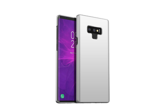 Frosted Shield Matte Ultra Thin Slim Light Fit Case For Samsung Note9 Silver Samsung Note9