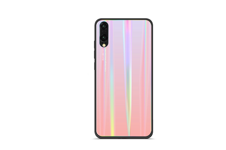 Ultra Thin Tpu Colorful Gradient Tempered Glass Protection For Huawei - No.2 Huawei P20Pro