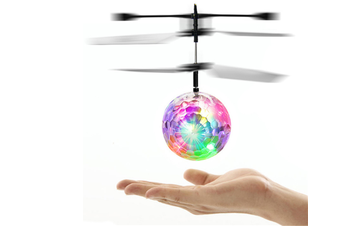 Flying Toy For Kids Adults Built-In Led Light Helicopter Shining Colorful Flying Drone