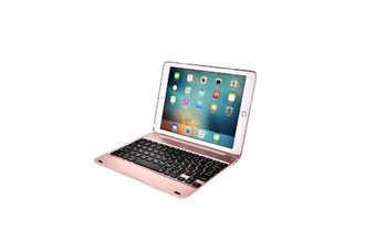 Removable Wireless Bluetooth Keyboard For Ipad Air1/Air 2 - 9.7 Inch Rose Gold