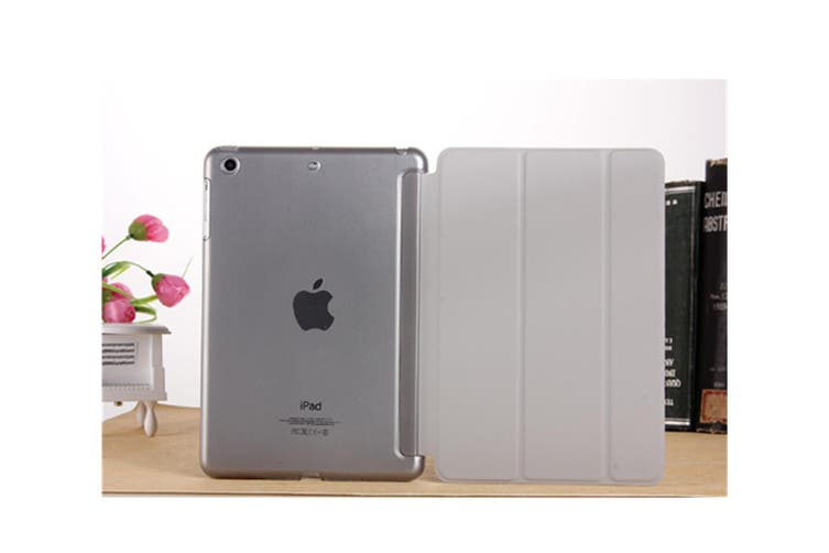 Premium Leather Business Slim Folding Stand Folio Cover For Ipad New Pro 11 Inch Grey