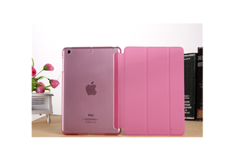 WJS Premium Leather Business Slim Folding Stand Folio Cover for 2020 Ipadpro-PINK-2020 PRO 11 Inch