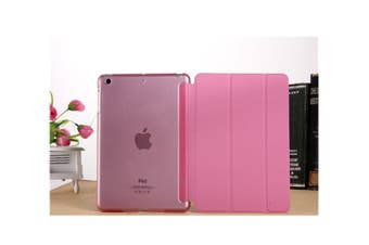 Premium Leather Business Slim Folding Stand Folio Cover For Ipad Ipad Mini 1/2/3 Pink