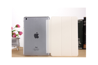 WJS Premium Leather Business Slim Folding Stand Folio Cover for 2020 Ipadpro-WHITE-2020 PRO 11 Inch