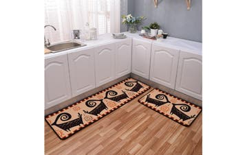 Non-Slip Kitchen Floor Mat Doormat Runner Rug - 10 , 60X90Cm