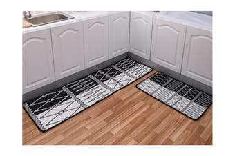 Non-Slip Kitchen Floor Mat Doormat Runner Rug - 3 , 60X90Cm