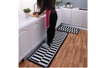Non-Slip Kitchen Floor Mat Doormat Runner Rug - 4 , 60X90Cm