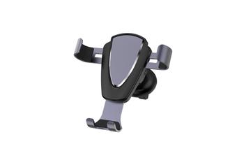 Metal Car Air Outlet Mobile Phone Anti-Skid Mobile Phone Bracket - Gun Color Gun Color