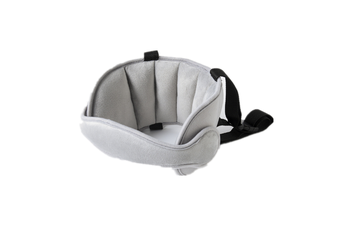 Comfortable Safe Neck Relief Head Protector Belt Baby Sleep Aid Strap - Grey Grey