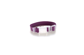 Detachable Adjustable Travel Luggage Strap Security Straps - Purple Purple