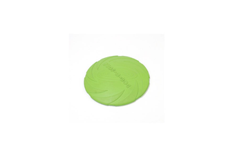 Pet Training Cyber Rubber Flying Saucer Interactive Toys,Floating Water Dog Toy Green S