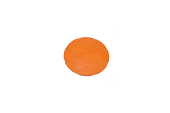Pet Training Cyber Rubber Flying Saucer Interactive Toys,Floating Water Dog Toy Orange S