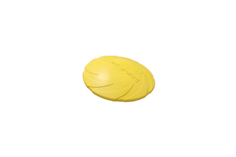 Pet Training Cyber Rubber Flying Saucer Interactive Toys,Floating Water Dog Toy Yellow S
